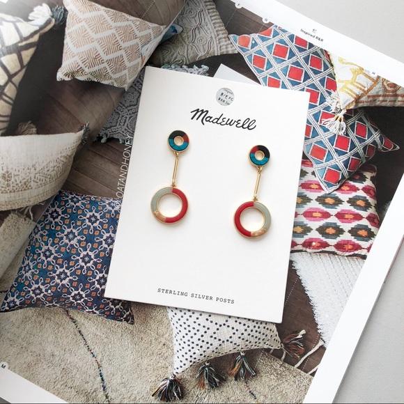 ed5070f85 Madewell Jewelry | Desert Sunset Circle Drop Earrings | Poshmark